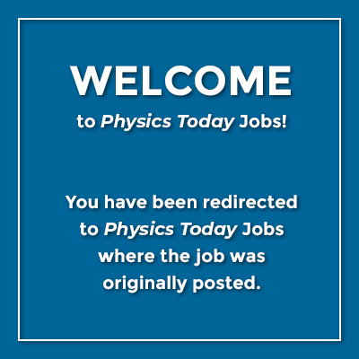 Applied Physics Postdoc, Employment | AIP