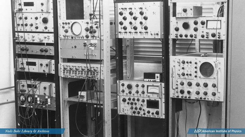 Equipment in Donnelly Laboratory at the University of Oregon
