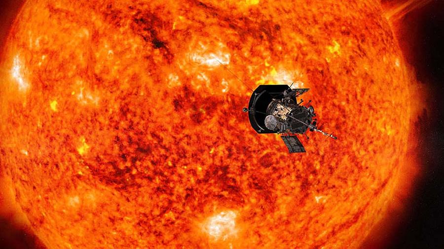 An illustration of NASA's Parker Solar Probe