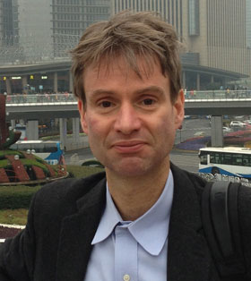 Hendrik Hamann, winner of the 2016 AIP Prize for Industrial Applications of Physics