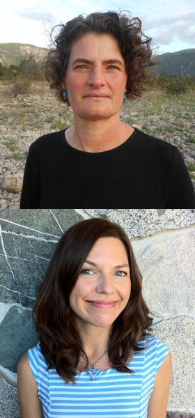 Antonia Banyard (above) and Paula Ayer, winners of AIP's 2017 Writing for Children award  <br/>CREDIT: Banyard and Ayer