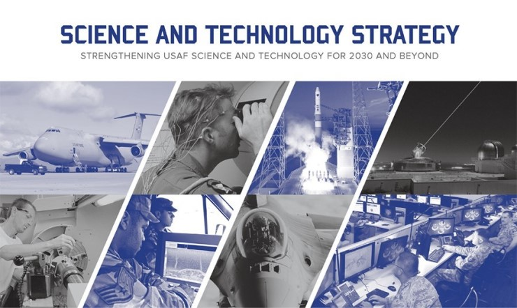 Air Force S&T Strategy Cover