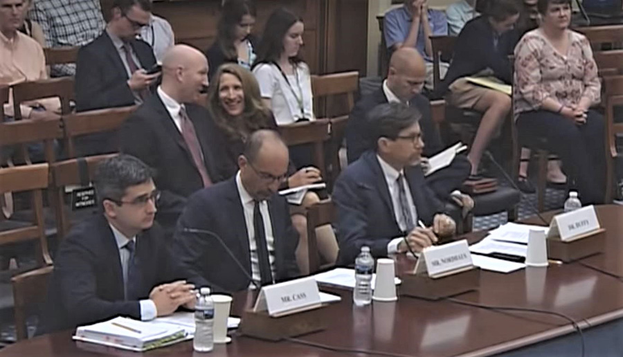 House Science Committee hearing on role of technologies to address climate change