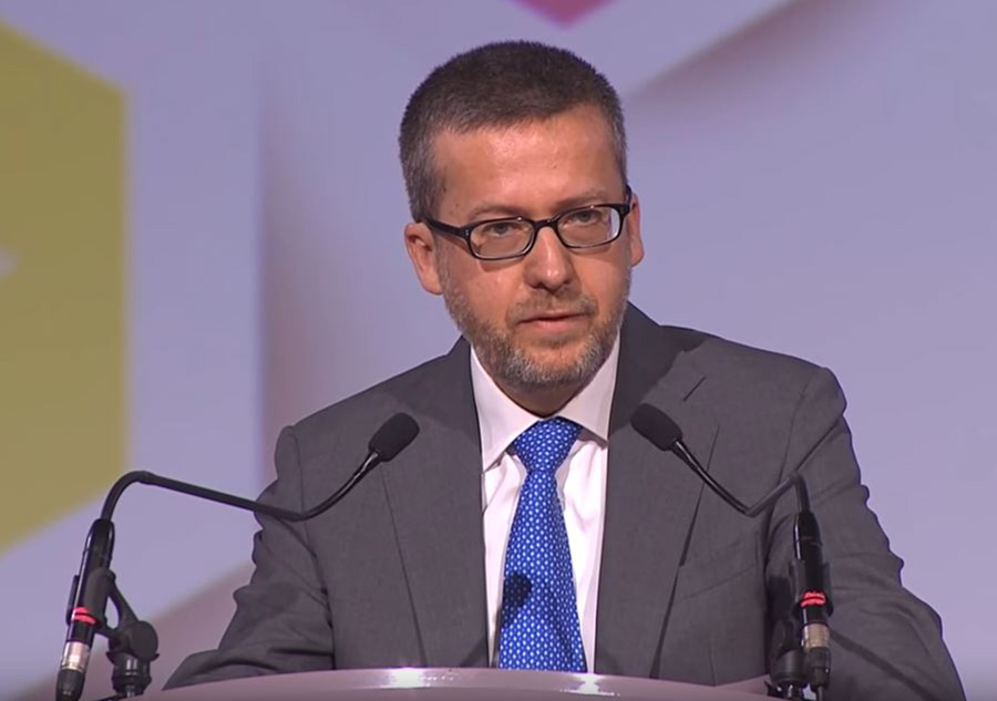 EU Commissioner for Research, Science, and Innovation Carlos Moedas