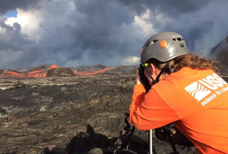 Monitoring the 2018 eruption of Mount Kīlauea