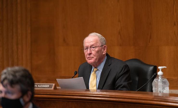 Sen. Lamar Alexander (R-TN) is retiring from Congress in January.