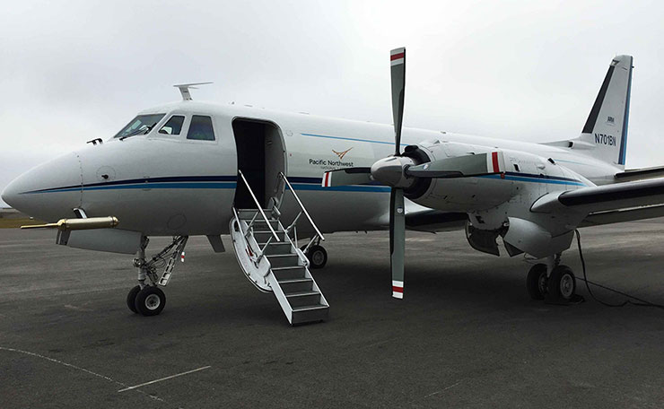 DOE's ARM user facility will receive funding this year to replace its aging G-1 airplane.