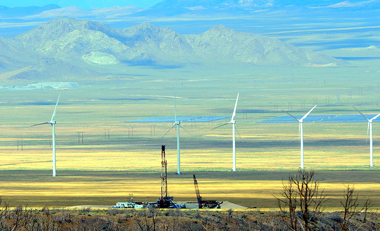 The Utah FORGE site is located in the state's Milford Renewable Energy Corridor.