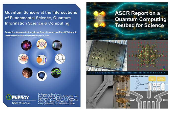 DOE quantum workshop reports