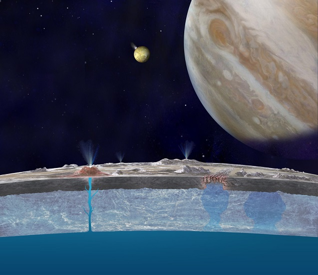 Jupiter's moon Europa