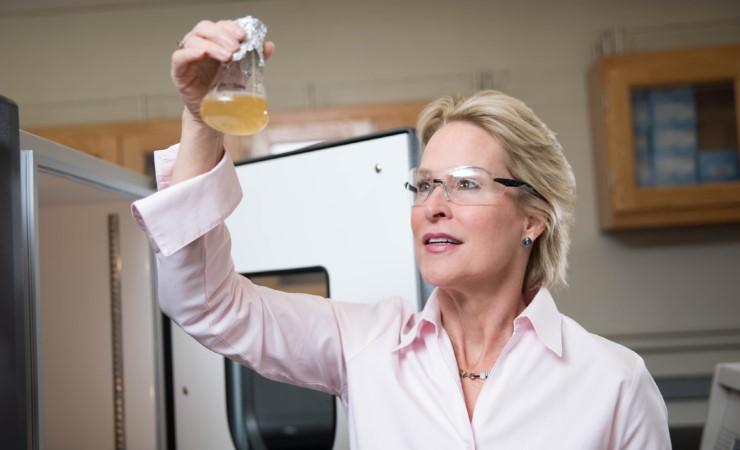 Caltech biochemical engineer and Nobel Prize winner Frances Arnold