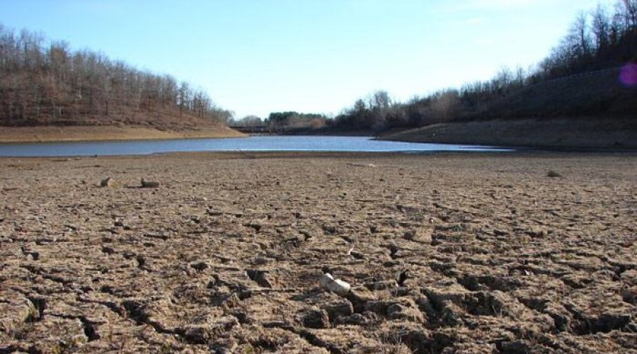 Riverbed during drought