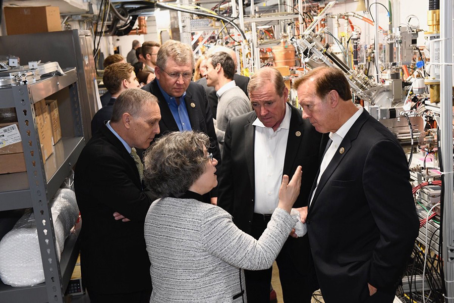 House Science Committee Visit to Fermilab
