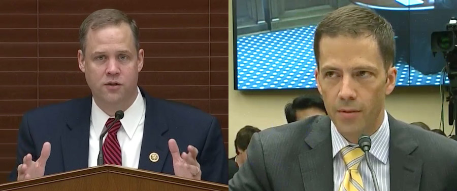Rep. Jim Bridenstine and Neil Jacobs