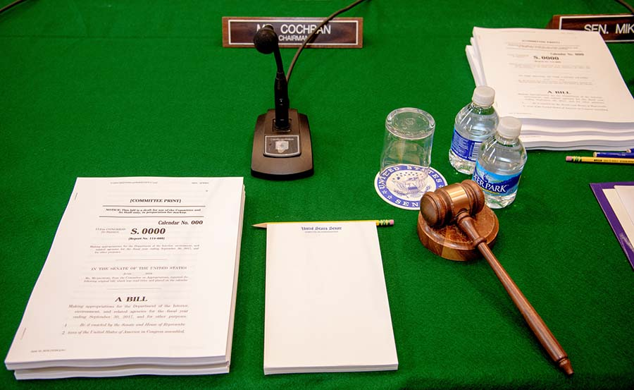Appropriations committee chair seat