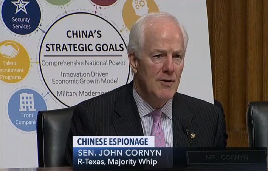 Cornyn with China wheel chart