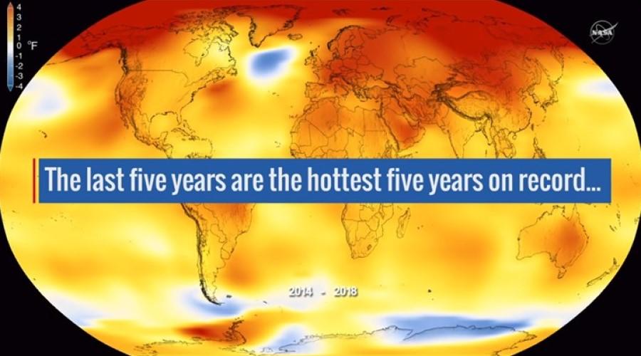 Global Temperature Graphic