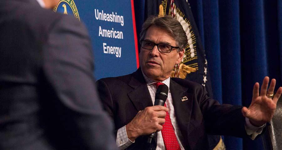 Energy Secretary Rick Perry