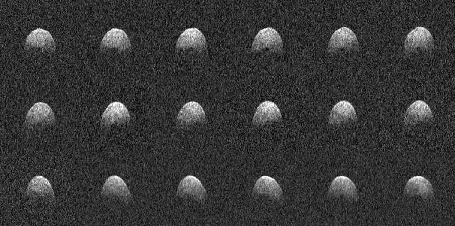 Arecibo radar image