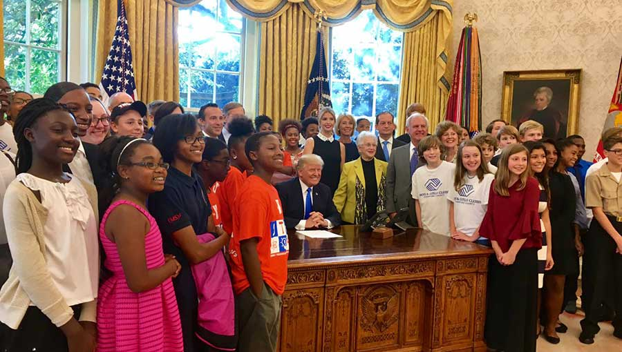 Trump signing STEM education memorandum