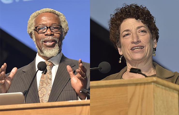 Jim Gates and Naomi Oreskes