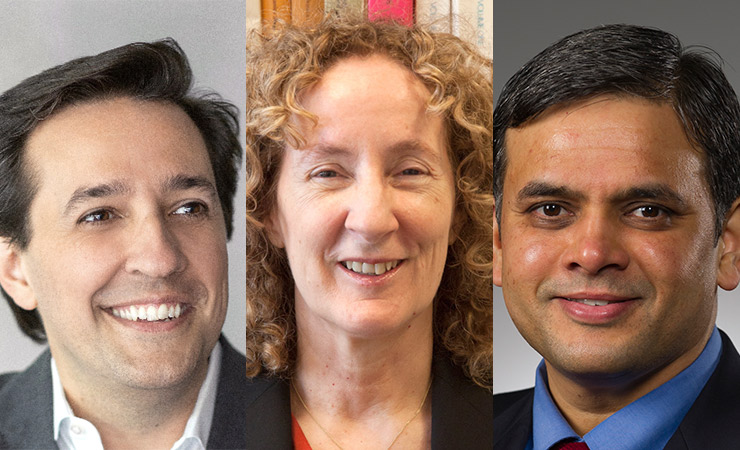 PCAST appointees Daril Gil, Birgitta Whaley, and A.N. Sreeram