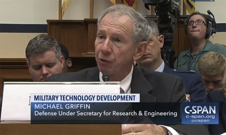 Under Secretary of Defense for Research and Engineering Mike Griffin testified before the House Armed Services Committee in June about aggressive efforts by China to gain access to the fruits of U.S. R&D.