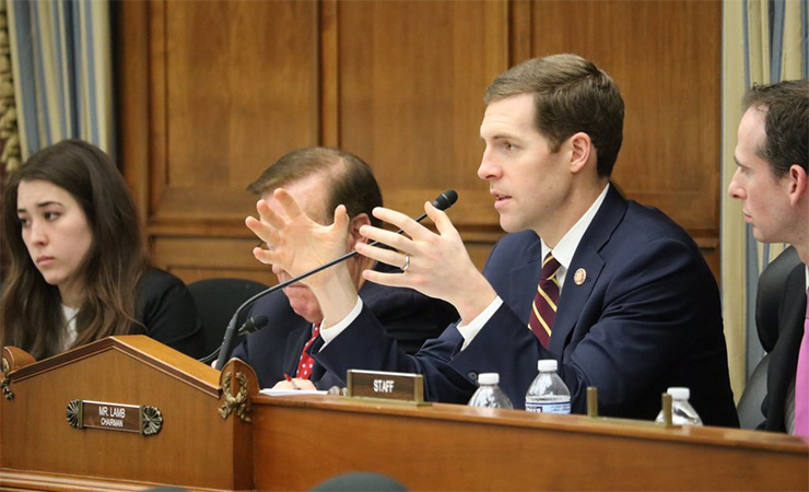Rep. Conor Lamb (D-PA) chairing an Energy Subcommittee hearing earlier this year.