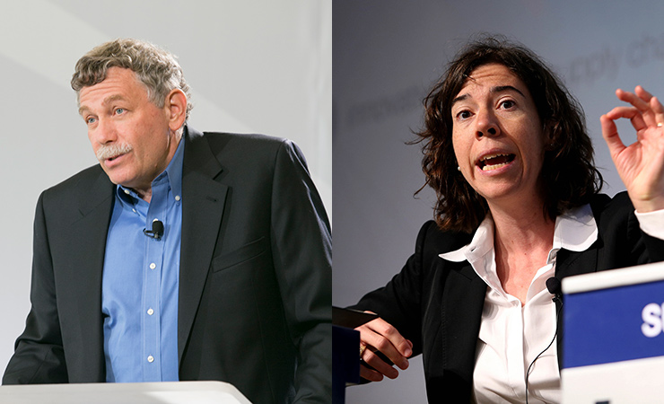 Eric Lander and Erica Fuchs are chairing a new National Academies study on challenges the U.S. faces in maintaining its global leadership position in science and technology.