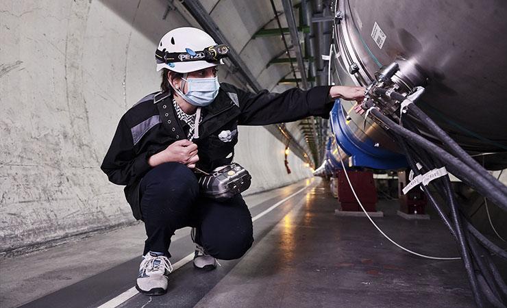 LHC beam pipe
