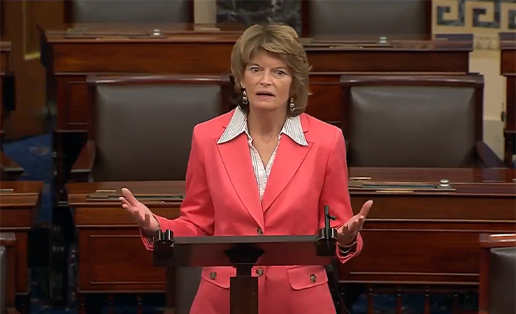 Senate Energy and Natural Resources Committee Chair Lisa Murkowski (R-AK) urges her colleagues to advance the American Energy Innovation Act