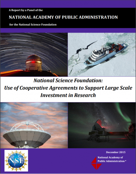 Dec. 2015 NAPA Report on NSF Large-Scale Research