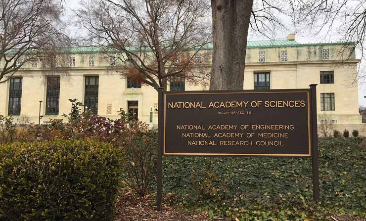 The National Academy of Sciences headquarters in Washington, D.C.