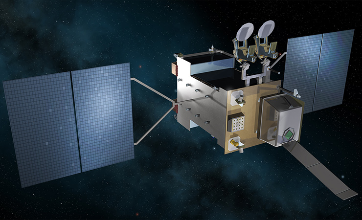 Next-Generation Overhead Persistent Infrared missile warning satellite
