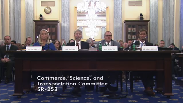 NIST and NOAA nominee confirmation hearing