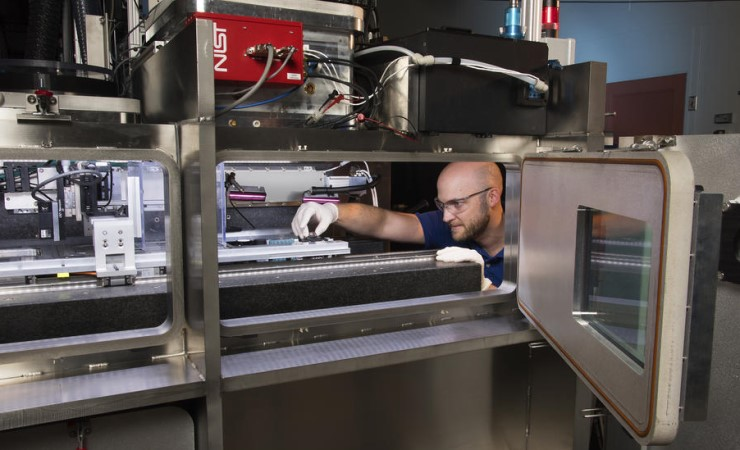 The Additive Manufacturing Metrology Testbed at the National Institute of Standards and Technology