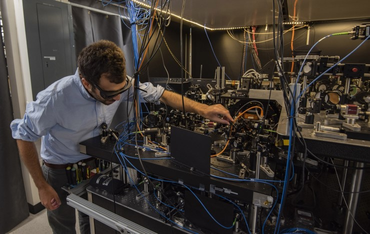 "A NIST physicist with an optical ""tweezer"" clock that offers new avenues for quantum physics research."