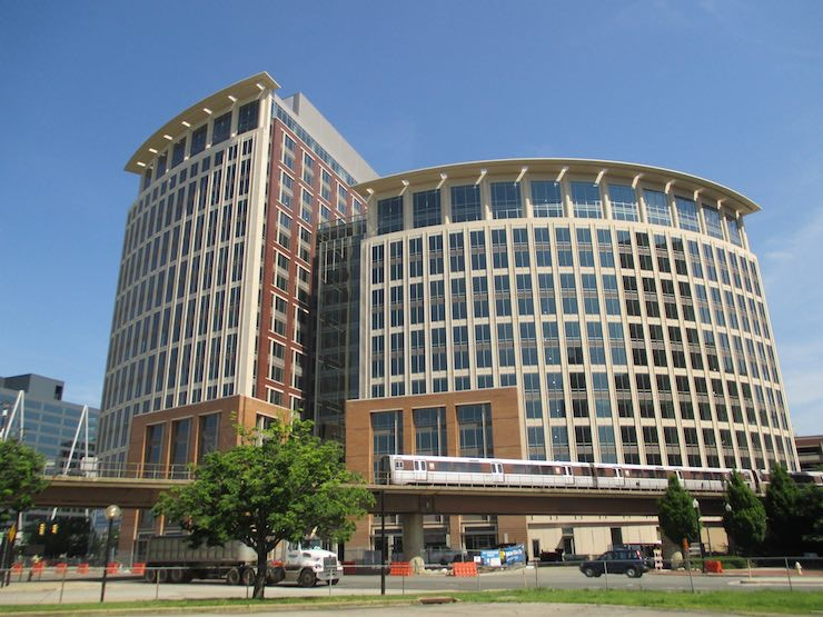 The future NSF headquarters in Alexandria, Va.