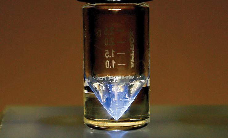 A sample of actinium-225