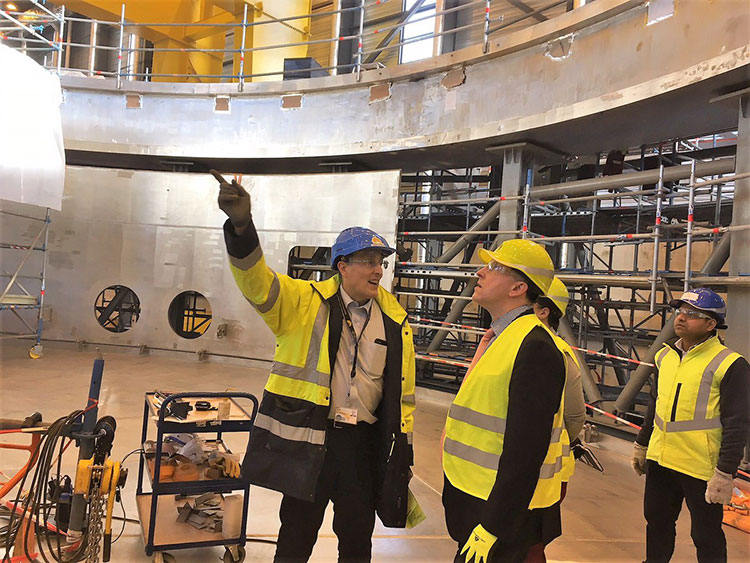Paul Dabbar visit to ITER