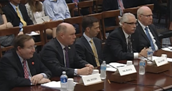 Weather forecasting hearing panel