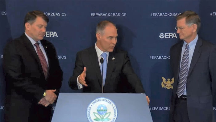 Pruitt press conference