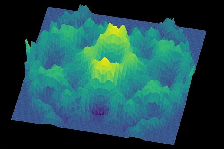 Quantum spin liquid graph