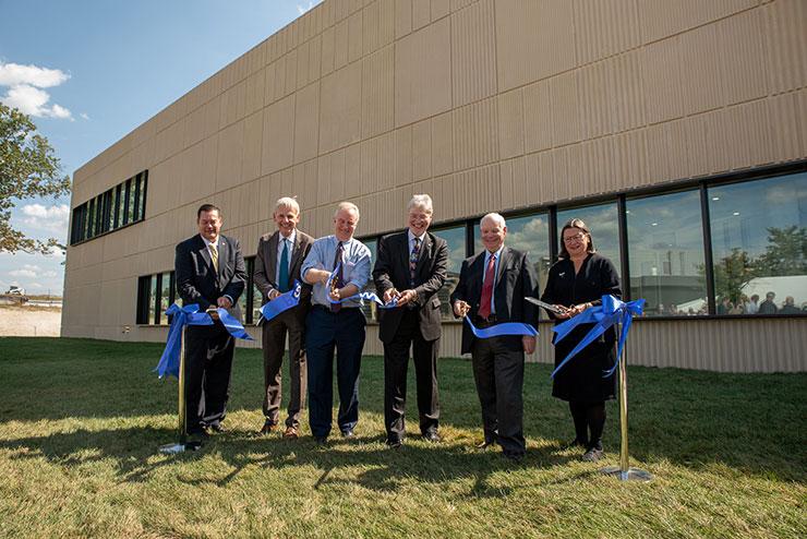 NIST Radiation Physics Building ribbon cutting ceremony