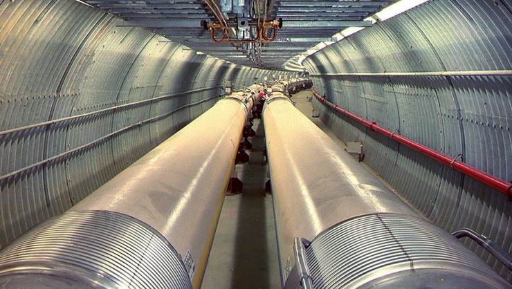 Brookhaven National Laboratory's EIC proposal calls for building a third accelerator in the tunnel of the Relativistic Heavy Ion Collider