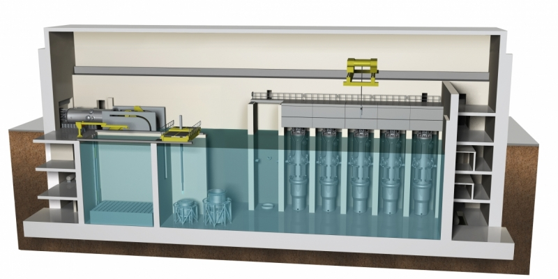 NuScale advanced light-water reactor