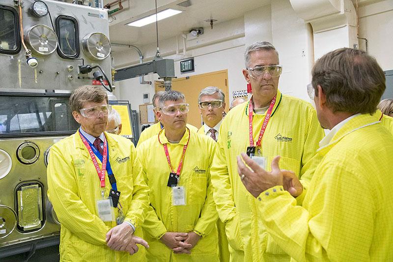 Terry Wallace Plutonium Lab Tour