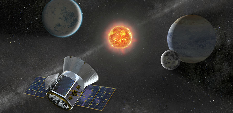 Transiting Exoplanet Survey Satellite is scheduled to launch on Monday