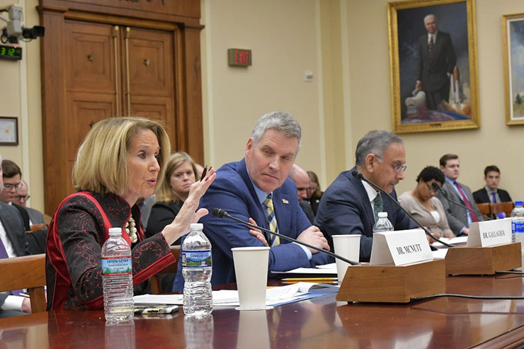 Science Committee S&T Leadership Hearing Panel