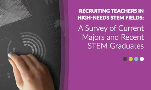 Report Calls for Better Recruitment of High School Teachers in STEM Subjects